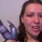 Destiny Starz on Wet Wabbit Vibrator